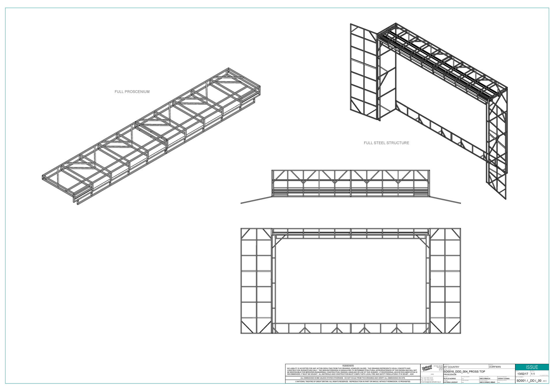 Main Structure Construction Drawing