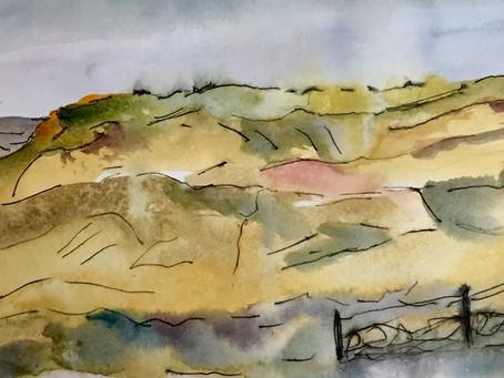 Big Moor above Hathersage.