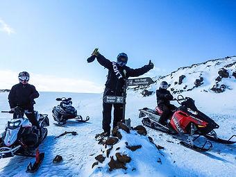 Skuterem śnieżnym po Islandii