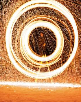 fuegos artificiales Spinner