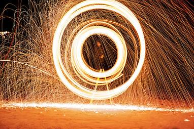 Firework Spinner