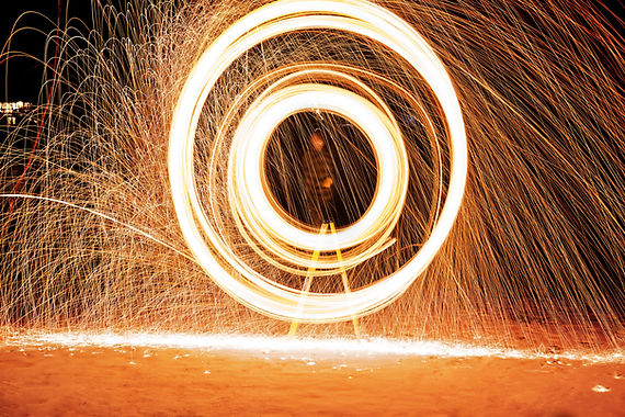 Feuerwerk-Spinner