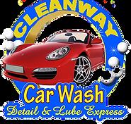 Cleanway Car Wash logo
