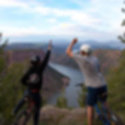 Biking Flaming Gorge