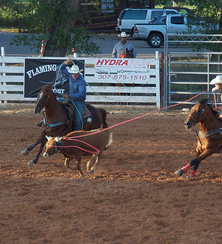 Team Roping Daggett County PRCA