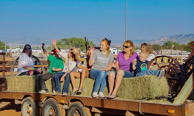 Beck Family Daggett County PRCA Rodeo 2017