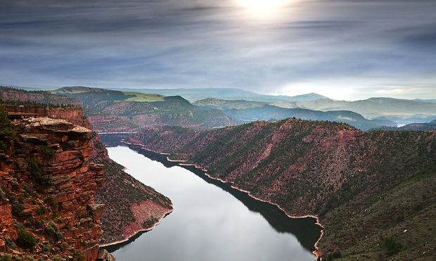 Flaming Gorge Red Canyon Overlook