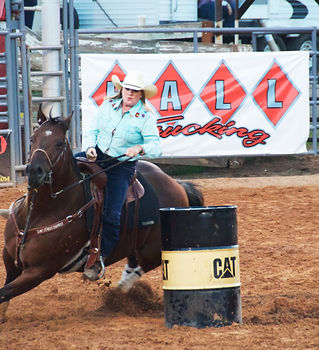 Barrel Racing Dagget County WPRA