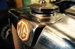 MG TB racing car