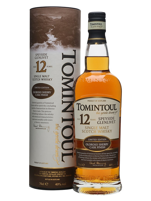 Whisky Tomintoul 700ml