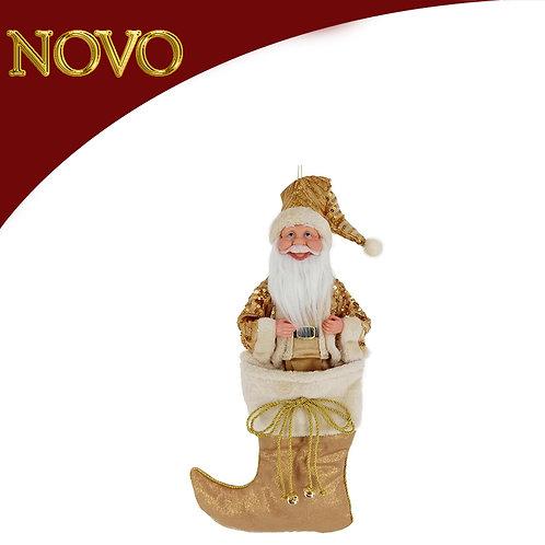 Santa c/bota 51cm