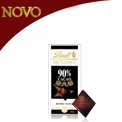 LINDT - 90% cacao 100gr