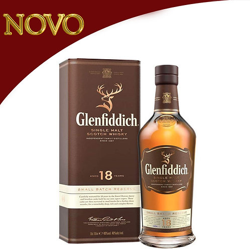 Whisky Glenfiddich 750ml - 18 year