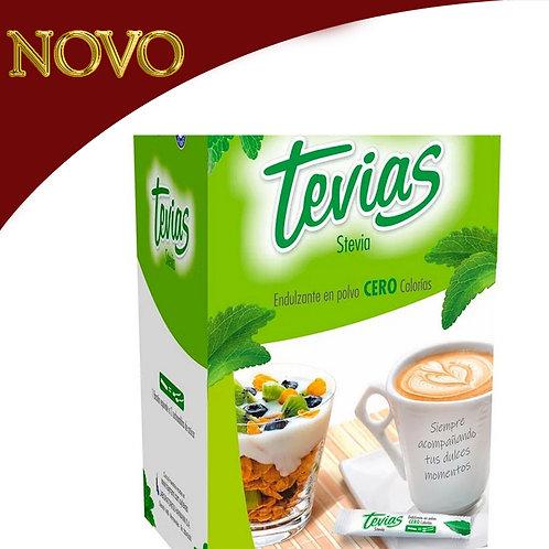 TEVIAS - Adoçante em pó zero 50 unidades