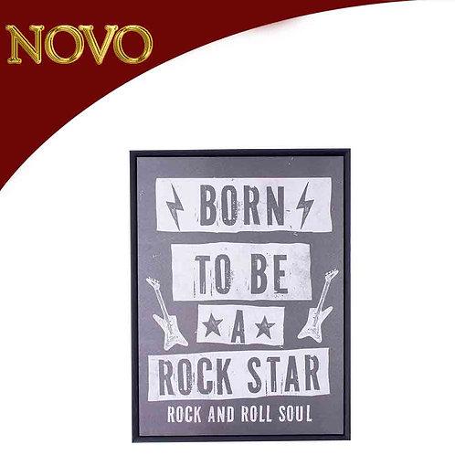Quadro Rock Star 45x60x3.5cm