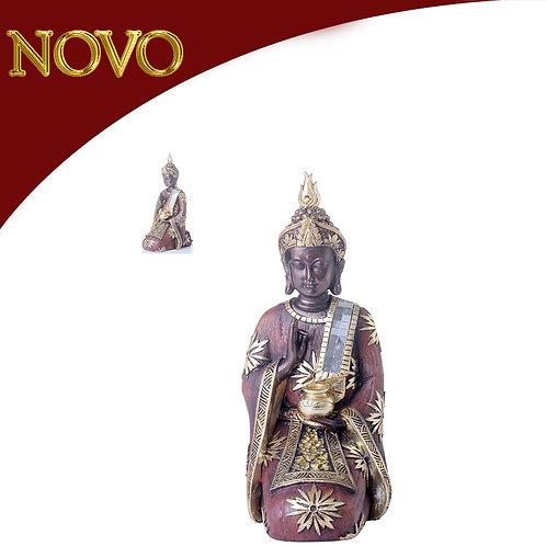 Buda decorativo 11x17x28.5cm