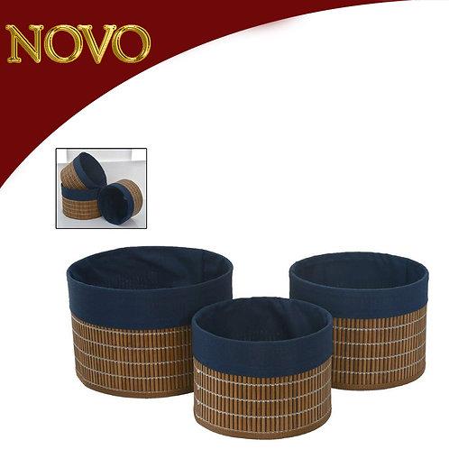 Jogo de cestas - preço unitário