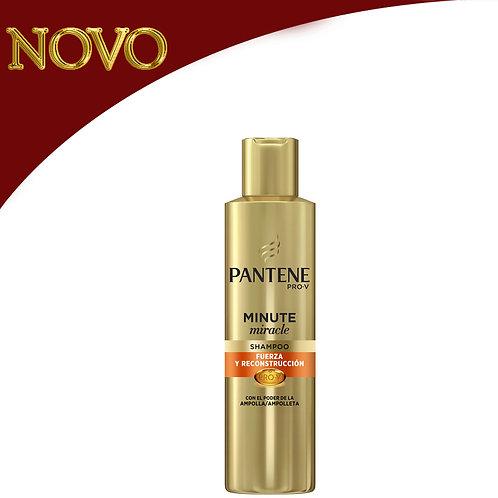 PANTENE - Minute Miracle Shampoo Força e reconstrução 270ml