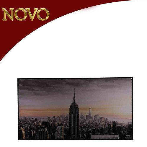 Quadro Torre Nova York 140x80x3.5cm