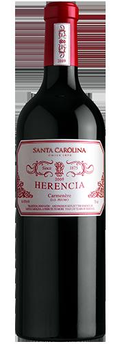 Vinho Santa Carolina Herencia Carmenere