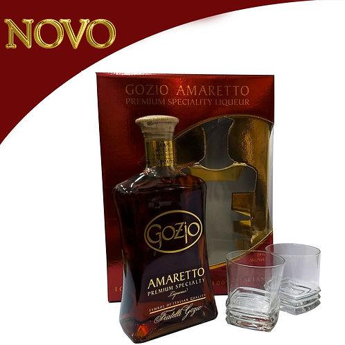 Licor Amaretto Gozio + Copos