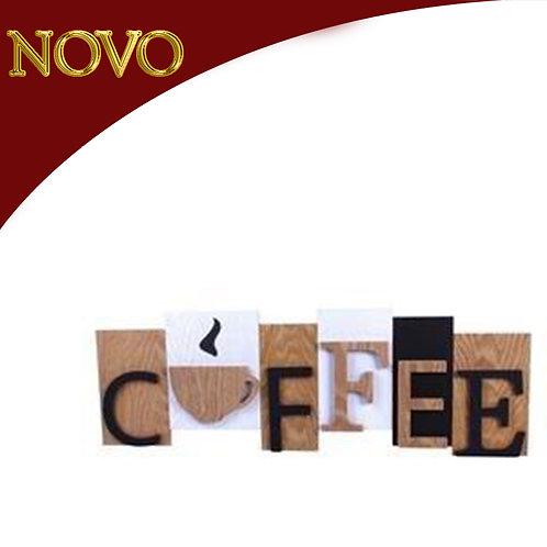 Quadro Coffee p/parede  20x59x2.5cm