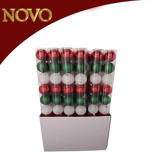 Kit bolas decorativas 10 peças