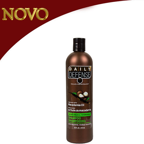 DAILY DEFENSE - Shampoo Macadamia Oil