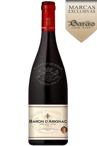 Vinho Francês Baron D'arignac Tinto