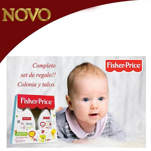 Fisher Price Talco + Colonia