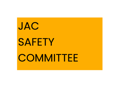 Safety Committee Update March 2021
