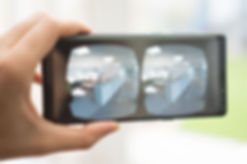 VR on Handheld