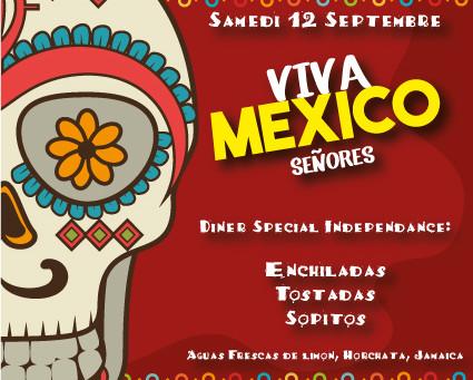 La Taqueria Lupita fête l'indépendance du Mexique