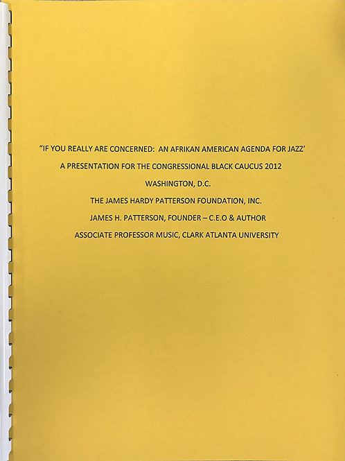 If You Really Are Concerned: An Afrikan American Agenda for Jazz