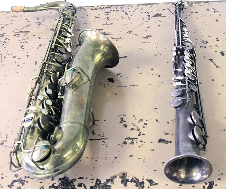 C Melody & Soprano Saxophones