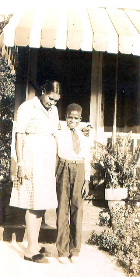 JHP and his mother Laura Cargile