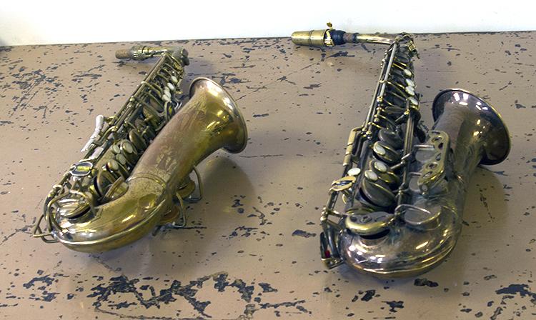 Alto Saxophones