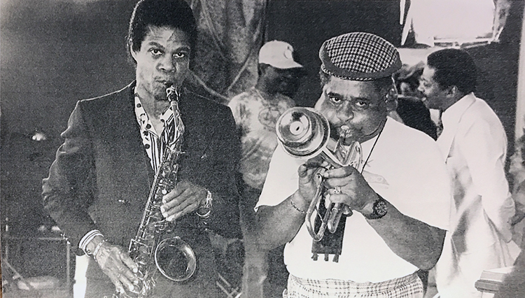 JHP and Dizzy Gillespie