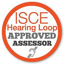 ISCE Hearing Loop Approved Assessor Logo