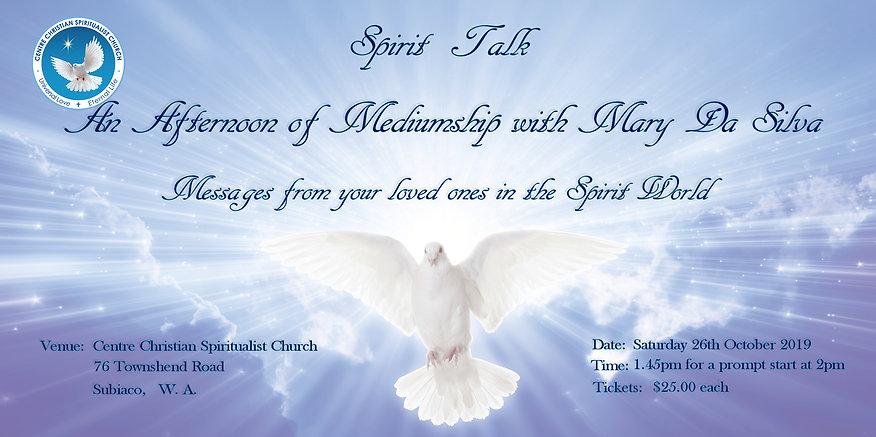 Afternoon Spirit talk flyer 26 Oct 19.jp