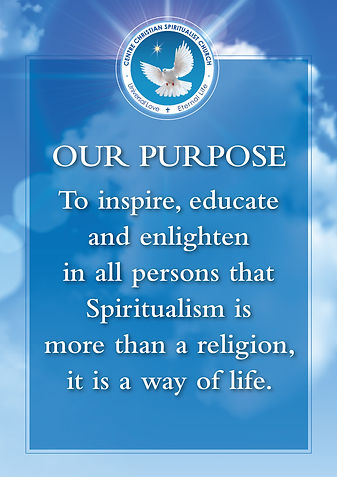 Centre Christian Spiritualist Church - Our purpose