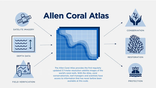 The Allen Coral Atlas system. Credit All