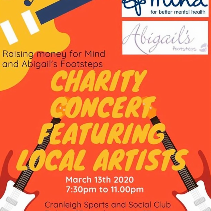 Charity Concert, Featuring local Artists.