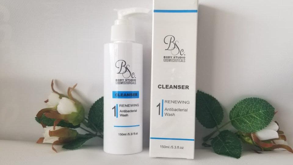 Renewing Antibacterial Wash Cleanser