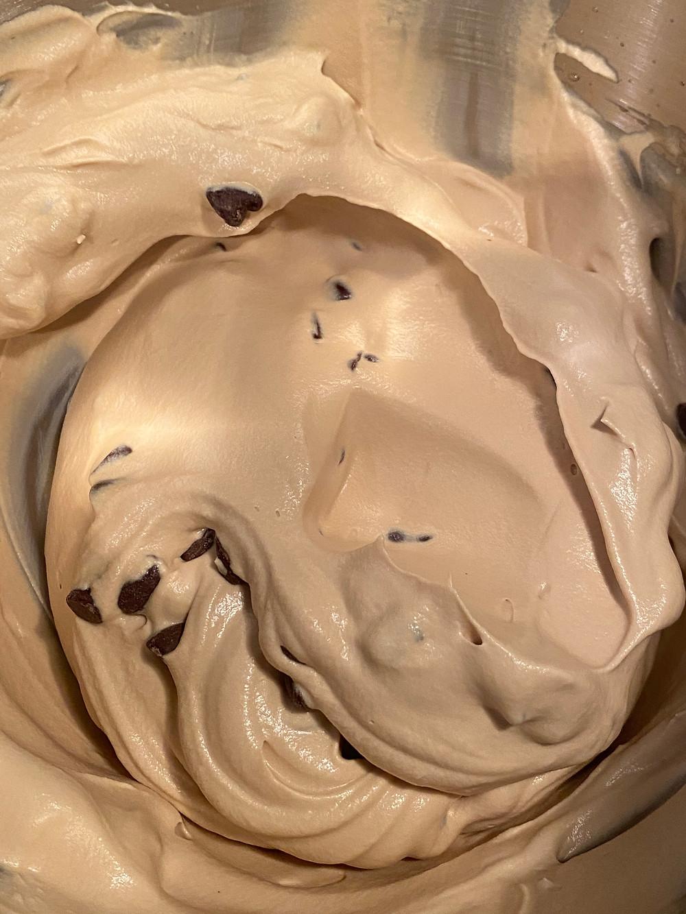 Kahlua coffee chip no churn ice cream