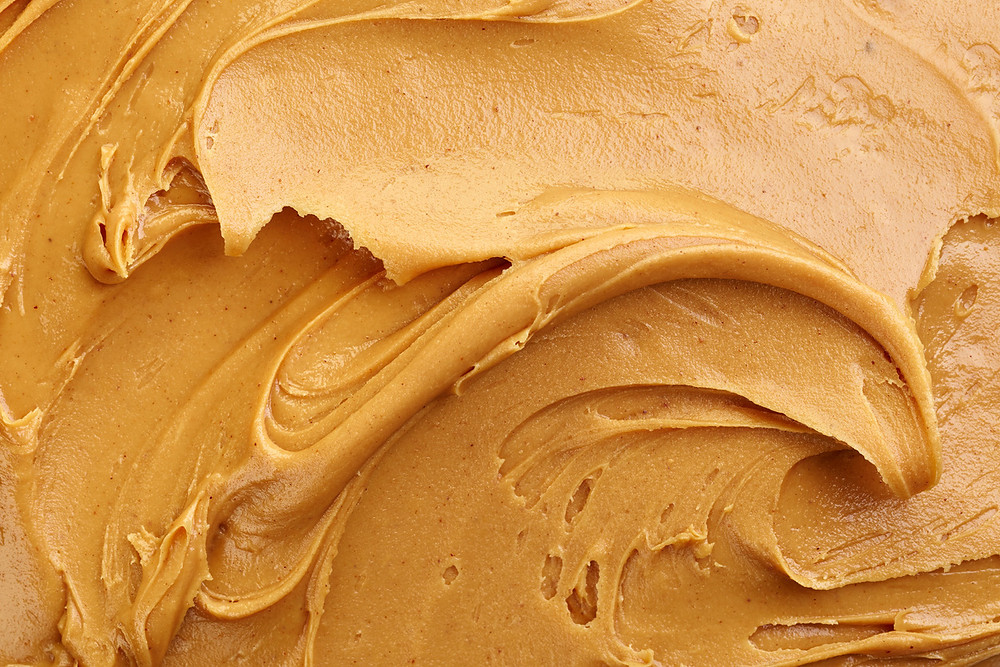 smooth, creamy peanut butter