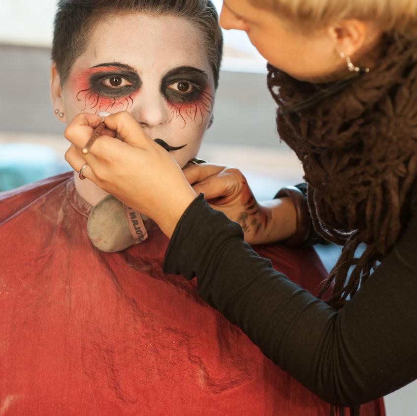 making of Halloween
