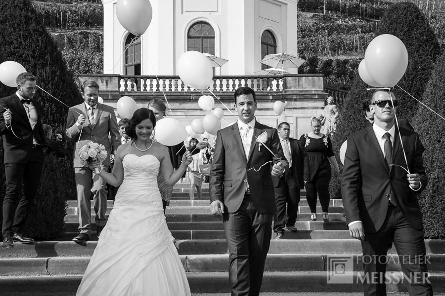 Hochzeit Schloss Wackerbarth