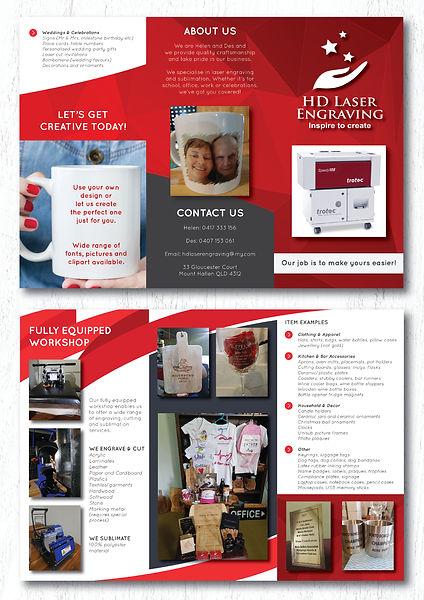 Tri-fold brochure - double sided