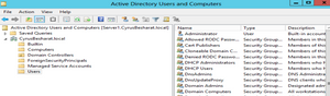 microsoft active directory screenshot